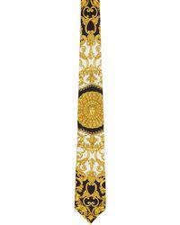 Versace - Multicolour Baroque Tie - Lyst