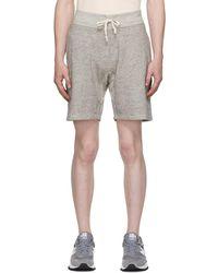 RRL Grey Fleece Shorts