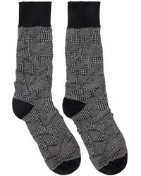 Issey Miyake Chaussettes noires Crush