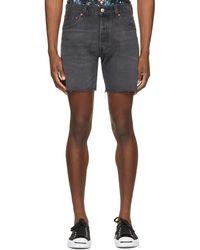 Levi's Black 501 '93 Cut-off Shorts