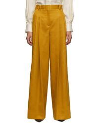 Partow Pantalon jaune Wren