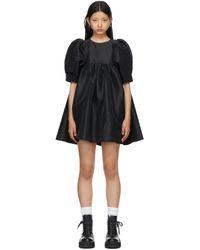 Kika Vargas ブラック Mathilde ドレス