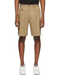 Dolce & Gabbana Tan Pin-up Shorts - Natural