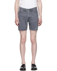 Tiger Of Sweden Grey Denim Jin Shorts
