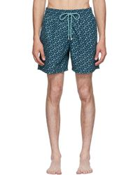 Vilebrequin - Blue Moorea Micro Rondes Des Tortues Swim Shorts - Lyst