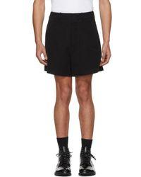 Ann Demeulemeester Black Harbour Shorts