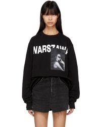 MISBHV Black 'warszawa' Crewneck Sweatshirt