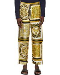 Versace ゴールド Barocco Mosaic ラウンジ パンツ - メタリック