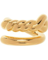 Bottega Veneta - ゴールド Knot リング - Lyst