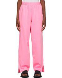 Balenciaga Pantalon de survêtement rose Jogging