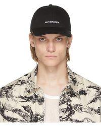 Givenchy ブラック 4g ロゴ キャップ