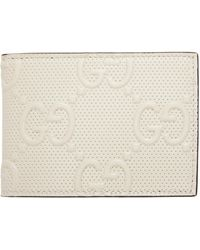 Gucci - Off-white ' Signature' Tennis Bifold Wallet - Lyst