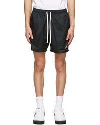 Nike - Black Nsw Woven Shorts - Lyst