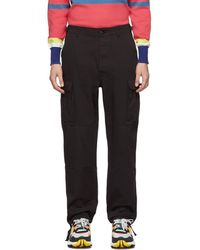 Aimé Leon Dore Black Cargo Pants