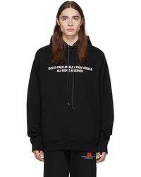 Palm Angels - Ssense Exclusive Black Large Palm X Palm Hoodie - Lyst