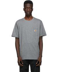 Carhartt WIP グレー Pocket T シャツ