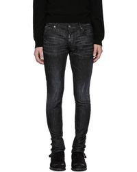 DSquared² - Black Slim Jeans - Lyst