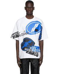 we11done - ホワイト スタック ロゴ T シャツ - Lyst
