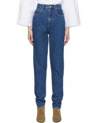 Isabel Marant - Blue Dustin Jeans - Lyst