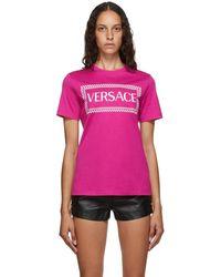 Versace ブラック レザー セーフティピン ブレザー