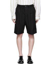 Marni - Black Drawstring Shorts - Lyst