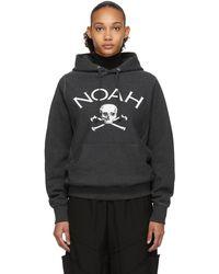 Noah Grey Jolly Roger Hoodie