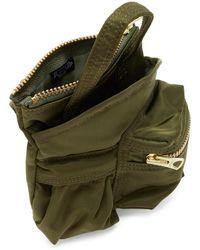 Sacai Porter Edition グリーン スモール ポケット バッグ