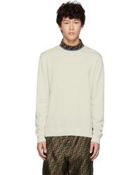 Fendi - White Forever Mock Neck Sweater - Lyst
