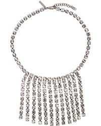 Christopher Kane - Silver Cup Chain Short Choker - Lyst