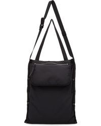 Craig Green Black Quilted Large Fold Bag