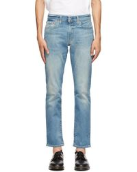 Levi's Blue 511 Slim-fit Jeans
