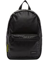 DIESEL - Black F-discover Backpack - Lyst