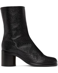 Maison Margiela ブラック Tabi 足袋 ブーツ