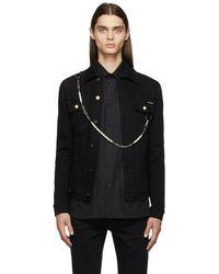Dolce & Gabbana ブラック デニム ジャケット