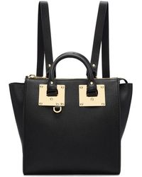 Sophie Hulme - Black Small Holmes Backpack - Lyst