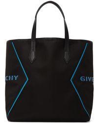 Givenchy Cabas noir et bleu Bond Shopping