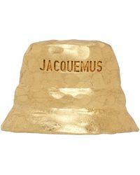 Jacquemus Boucle d'oreille dorée 'Le Bob' - Métallisé
