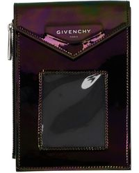 Givenchy Multicolour Patent Neck Window Pouch