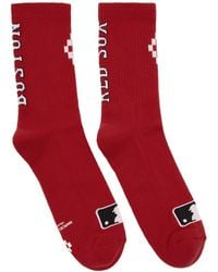 Marcelo Burlon - Red Boston Red Sox Socks - Lyst