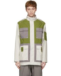 A_COLD_WALL* - * オフホワイト & グリーン 3l Model 4 ジャケット - Lyst