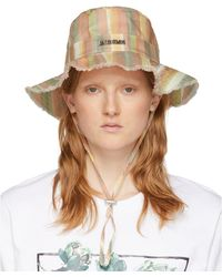 Jacquemus Multicolour Striped Le Bob Artichaut Bucket Hat
