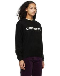 Carhartt WIP Black Typeface Jumper