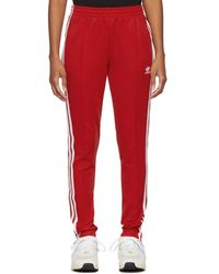 adidas Originals Red Sst Track Trousers