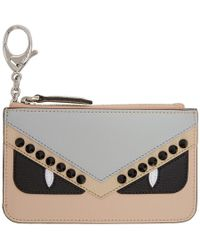 Fendi - Multicolor Bag Bugs Coin Pouch - Lyst