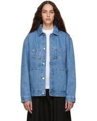 Etudes Studio - Blue Denim Guest Jacket - Lyst