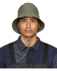 Engineered Garments K-way エディション カーキ Pascalen 3.0 バケット ハット - ブルー