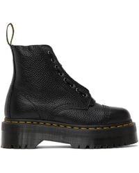Dr. Martens - ブラック Sinclair ジップ ブーツ - Lyst