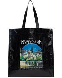 Balenciaga ブラック ミディアム Notre Dame ショッパー トート
