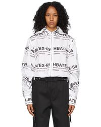 Hood By Air All Over Print Hoodie Shirt - White