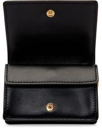 Burberry ブラック キルティング モノグラム カード ケース バッグ